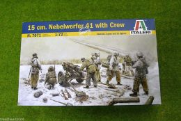 15 cm. Nebelwerfer 41 with Crew Italeri 1:72 Scale 7071