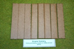 150mm x 25mm LASER CUT MDF 2mm Wooden Bases for Wargames