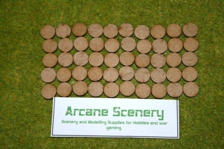 15mm ROUND LASER CUT MDF 2mm Wooden Bases or BATTLE MARKERS for Wargames