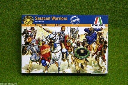 1:72 Scale SARACEN WARRIORS 11th Century  Italeri 6010