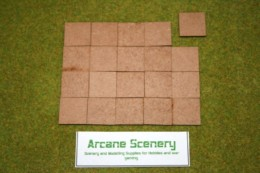 30mm x 30mm LASER CUT MDF 2mm bases pack of 20