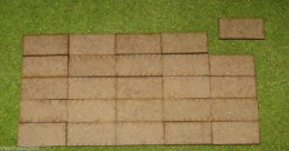40mm x 20mm LASER CUT MDF 2mm Wooden Bases for Wargames