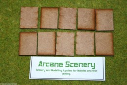 40mm x 30mm LASER CUT MDF 2mm Wooden Bases for Wargames