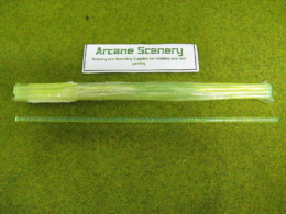 4mm GREEN Transluscent Light Gathering Rod pack of 10