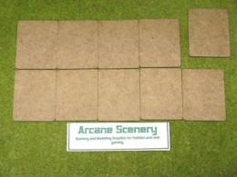 64mm x 50mm LASER CUT MDF 2mm bases will suit FOW game