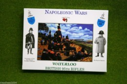A Call To Arms BRITISH 95th RIFLES Waterloo Napoleonic Wars 1/32 CT35