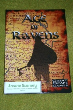 Great Escape Games AGE OF RAVENS Dark Ages rule Supplement