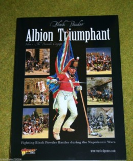 Black Powder ALBION TRIUMPHANT VOL.1 The Peninsular Napoleonic rule supplement