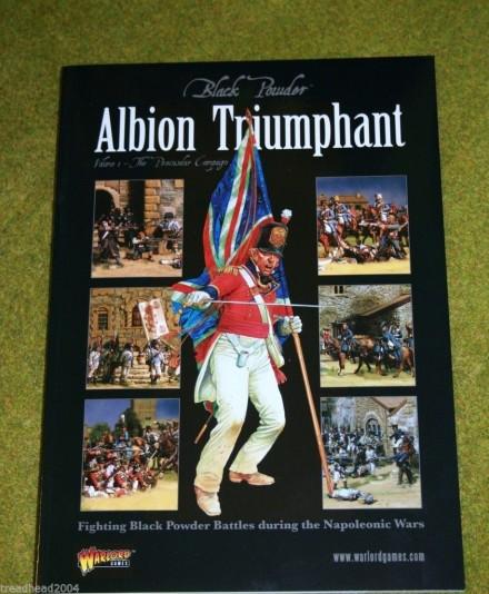 Black Powder ALBION TRIUMPHANT VOL.1 The Peninsular Napoleonic rule supplement