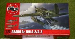 ARADO Ar.196 A-2/A-3 1/72 Scale Airfix Model Kit 2019