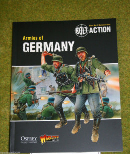 BOLT ACTION ARMIES OF GERMANY Supplement World War Two wargames rules