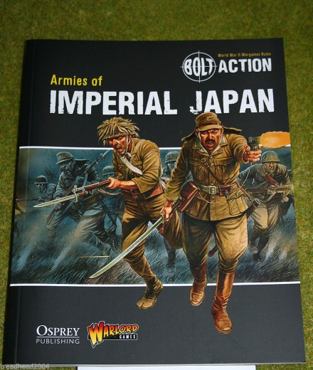 Armies of Imperial Japan Supplement Bolt Action Warlord Games 28mm