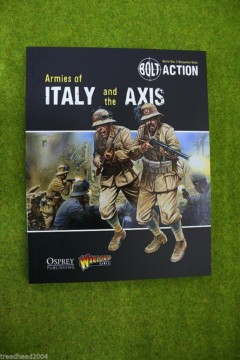 Armies of Italy & the Axis Supplement Bolt Action Warlord Games 28mm