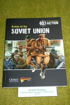 BOLT ACTION ARMIES OF THE SOVIET UNION Supplement World War Two wargames rules