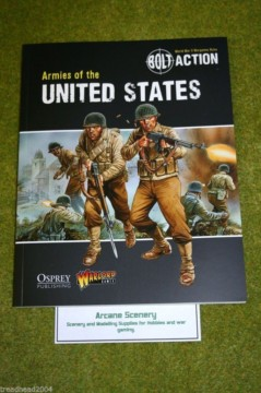 Armies of The United States Supplement Bolt Action Warlord Games 28mm