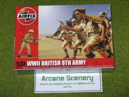 Airfix British 8th Army 1/32 Scale 2707