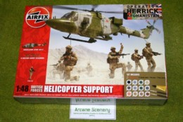 Airfix British Forces HELICOPTER SUPPORT Operation Herrick Afganistan 50122