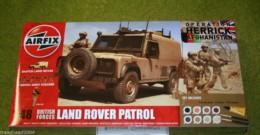 Airfix British Forces LAND ROVER PATROL Operation Herrick Afganistan 50121