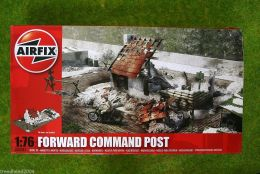 Airfix FORWARD COMMAND POST 1/76 Scale Military Kit 3381