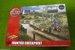 Airfix FRONTIER CHECKPOINT 1/32 Scale Military Kit A06383