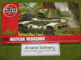 Airfix MATILDA HEDGEHOG Tank 1/76 Scale Kit 2335