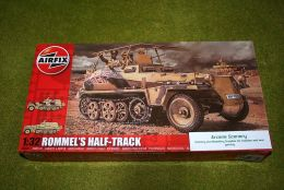 Airfix Rommels Sd.Kfz 250/3 Half Track 'Grief' 1/32 Scale Plastic Kit A06360