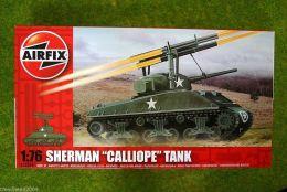 Airfix SHERMAN CALLIOPE Tank 1/76 Scale Kit 2334