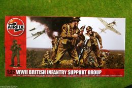 Airfix WWII BRITISH INFANTRY SUPPORT GROUP 4710 1/32 Scale