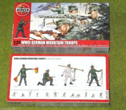Airfix WWII GERMAN MOUNTAIN TROOPS 1/32 Scale 4713