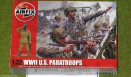 Airfix WWII US PARATROOPS 1/32 Scale hard Plastic 2711