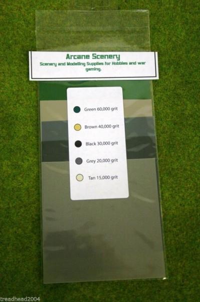 Albion Alloys MICRO FINE SANDING KIT 100mm x100mm 5 Pack #353
