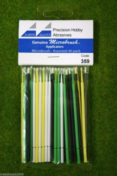 Albion Alloys Microbrush applicators – Microbrush Assorted Pack of 40 #359