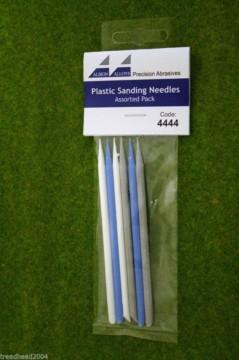 Albion Alloys PLASTIC SANDING NEEDLES ASSORTED grit #4444