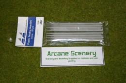 Albion Alloys PLASTIC SANDING NEEDLES COARSE 150 grit  Code 344