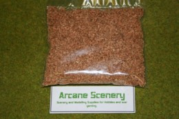 Arcane Scenery Medium Cork Grain Scatter or Modelling Flock