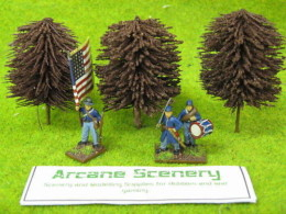 Arcane Scenery Pack of 3 BEECH Trees Medium size