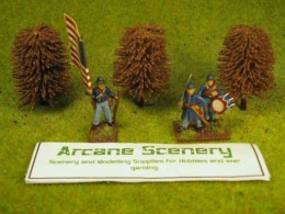 Arcane Scenery Pack of 3 Small Beech Trees