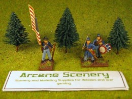 Arcane Scenery Pack of 3 Small Fir Trees