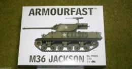 Armourfast M36 JACKSON x 2 WWII Tank 1/72 set 99025