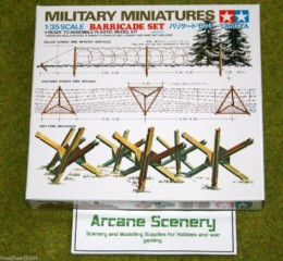 BARRICADE set for Dioramas & Terrain Tamiya 1/35 35027