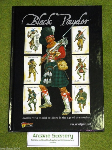 BLACK POWDER rules for Wargames from WARLORD games