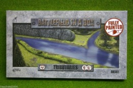 Battlefield in a Box TRIBUTARIES painted tabletop terrain 15mm to 28mm BB561