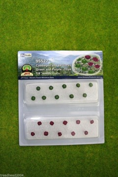 CABBAGES AND LETTUCES JTT TREE HO/OO Scale LS95527