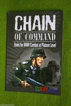 CHAIN OF COMMAND rules for WWII Combat at Platoon Level by TWOFATLARDIES