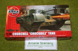 CHURCHILL CROCODILE Tank 1/76 Scale Airfix Kit 2321
