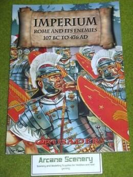 CRUSADER Imperium: Rome & it's Enemies rules supplement