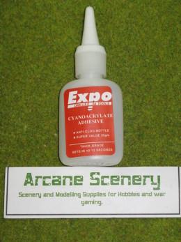 CYANOCRYLATE ADHESIVE 20gms bottle 'super glue' Thick