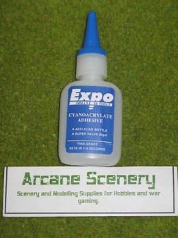 CYANOCRYLATE ADHESIVE 20gms bottle 'super glue' Thin