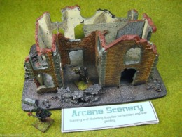 Conflix RUINED VILLA 28mm Terrain & Diorama EM6509