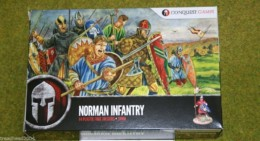 Conquest Games NORMAN INFANTRY 28mm Plastic